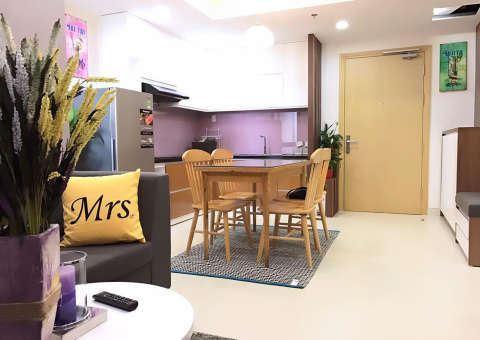 căn bếp đầy đủ tiện nghi, được thiết kế khoa học và đẹp mắt