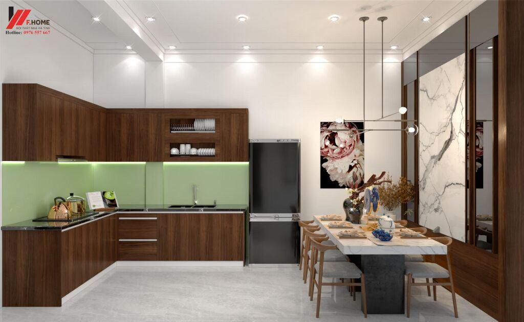 Tủ bếp đẹp Hà Tĩnh