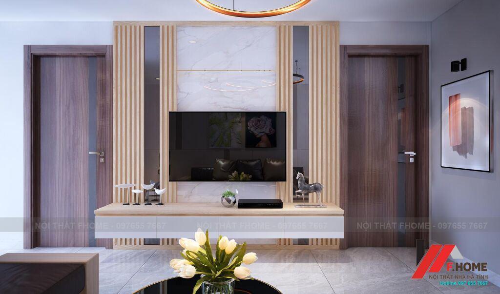 thiết kế nội thất chung cư hà tĩnh