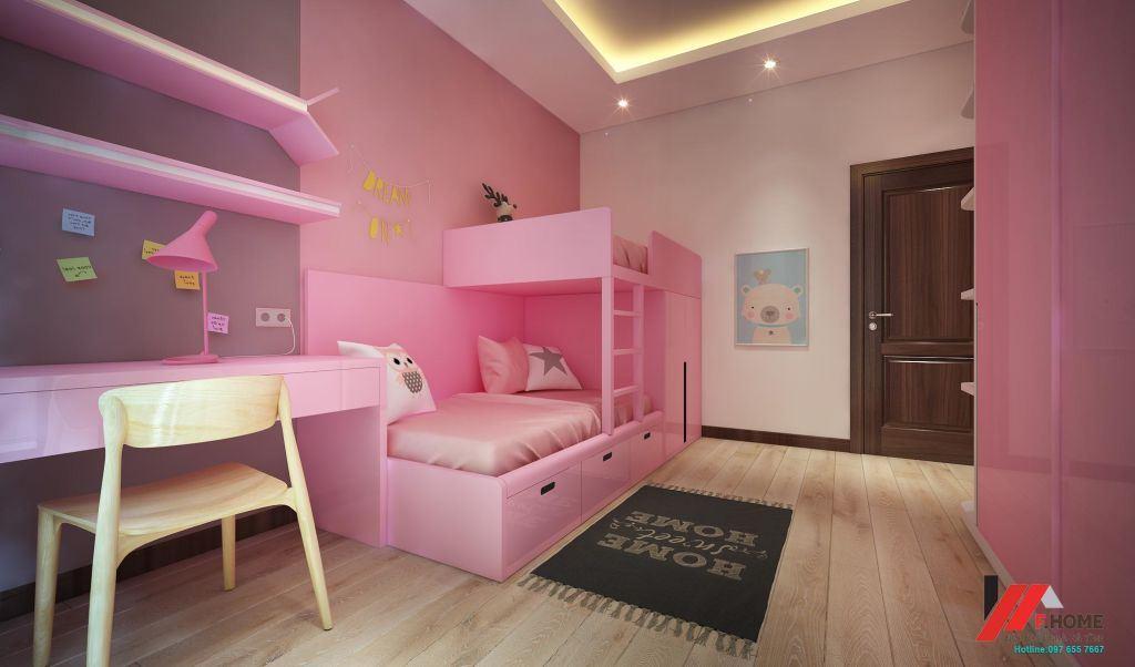 thiết kế phòng bé đẹp hà tĩnh
