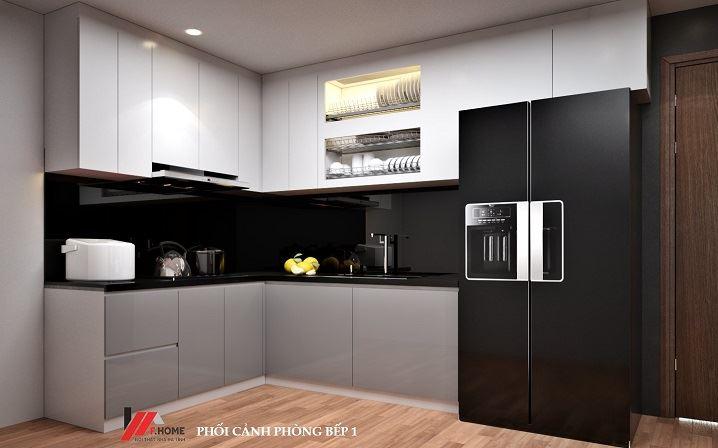 Giá làm tủ bếp phụ thuộc vào rất nhiều yếu tố như kích thước, chất liệu