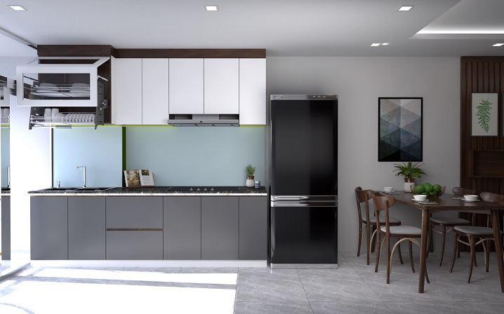 Màu sắc của nội thất hài hòa, giúp không gian mở và đẹp hơn